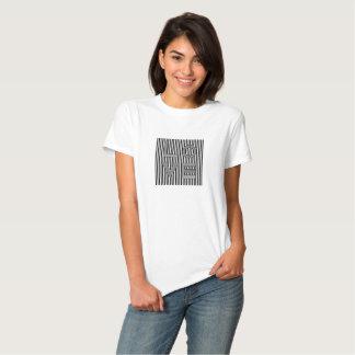 Black and White Love Typography Tee Shirt