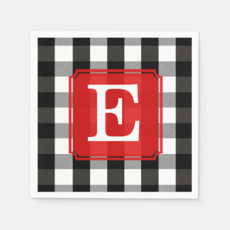 black and white checkered paper napkins Black party supplies at wholesale prices black velvet party plates, napkins, and cups are perfect for your holiday, birthday, graduation, or any classic celebration.