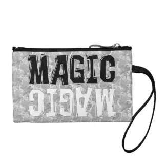 Black and White Magic Coin Wallet