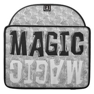 Black and White Magic MacBook Pro Sleeve
