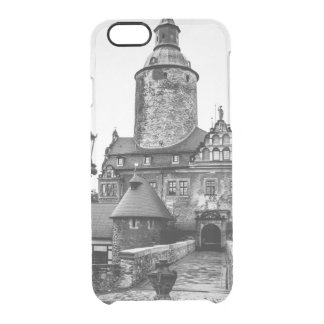 Black and White Magical Castle Photograph Clear iPhone 6/6S Case