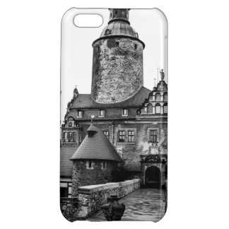 Black and White Magical Castle Photograph iPhone 5C Cover