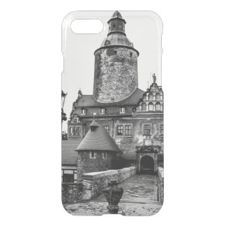 Black and White Magical Castle Photograph iPhone 8/7 Case
