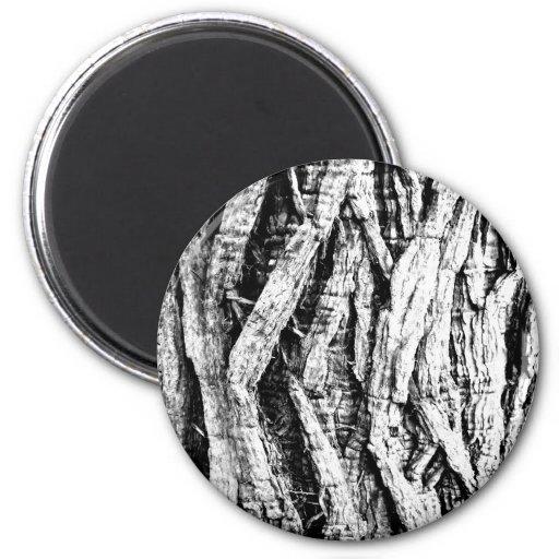 Black and white Magnet