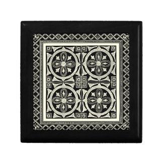 Black and White Mandala Motif by Vision Studio Keepsake Box
