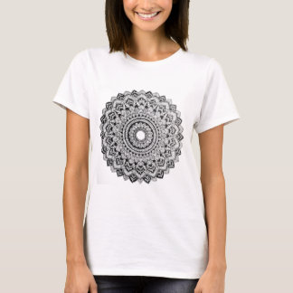 Black and White Mandala T-Shirt