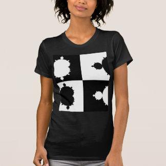 Black and White Mandelbrot Shirt