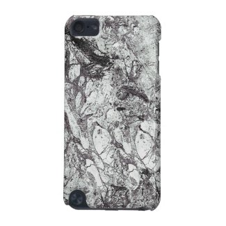 Black and White Marble iPod Touch (5th Generation) Cases