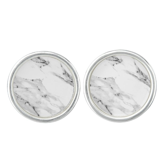 Marble Cufflink Marble Accessories Marble Decor Black and White Marble Marble Art Gray Marble Grey Marble Marble Cufflinks
