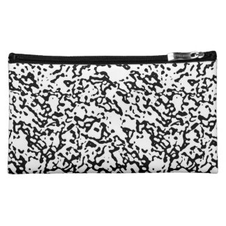 """Black And White"" Marble Design Clutch/Mini Bag"