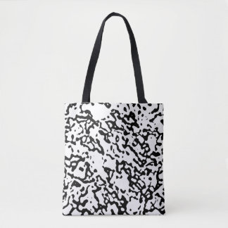 """""""Black And White"""" Marble Design Shoulder Bag"""
