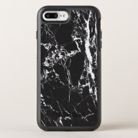Black and White Marble Otterbox Iphone 7 Plus Case