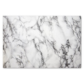 Marble craft tissue paper zazzle for White and black marble