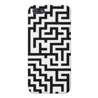 black and white maze for iPhone iPhone SE/5/5s Case