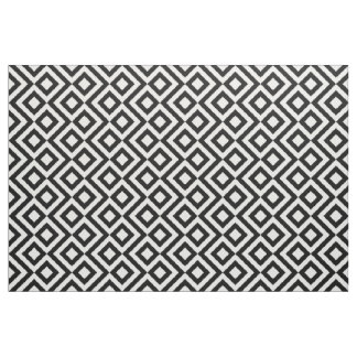 Black and White Meander Fabric