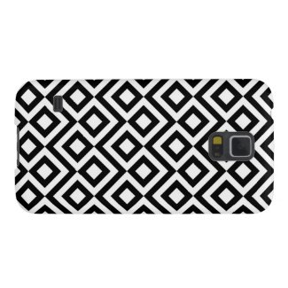 Black and White Meander Galaxy S5 Cover