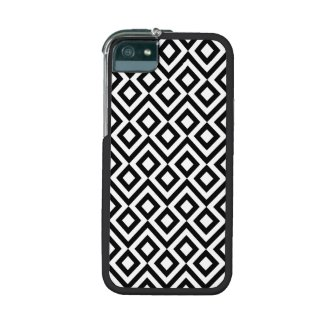 Black and White Meander iPhone 5 Case