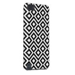 Black and White Meander iPod Touch 5G Cases