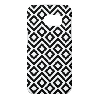Black and White Meanders and Diamonds Case