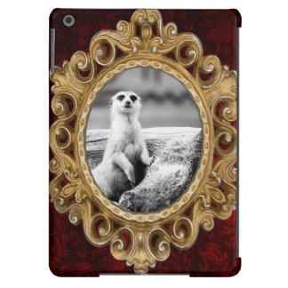 Black and White Meerkat On A Tree iPad Air Cases