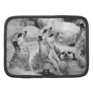Black and White Meerkat Photograph Planner