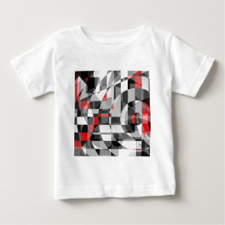 black and white meets red Version 1 Baby T-Shirt