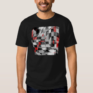 black and white meets red Version 1 Shirt