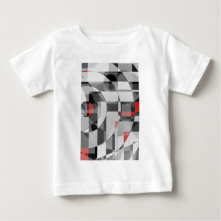 black and white meets red Version 2 Baby T-Shirt