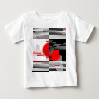 Black and white meets red Version 4 Baby T-Shirt