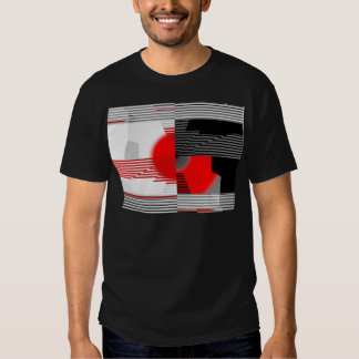 Black and white meets red Version 4 Shirt