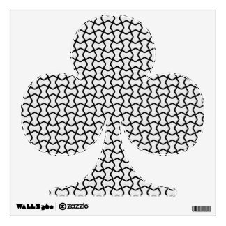 Black and white mesh pattern room sticker