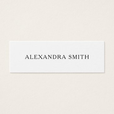 Professional Business Black and white minimalist modern business card