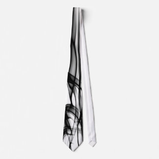 Black and white modern and unique tie