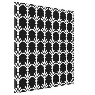Black And White Modern Art Deco Wall Art