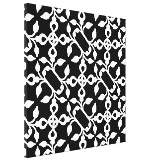 Black And White Modern Art Deco Wall Art