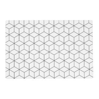 modern placemats zazzle. Black Bedroom Furniture Sets. Home Design Ideas