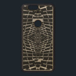 """Black and White Modern Trendy Abstract Pattern Wood Nexus 6P Case<br><div class=""""desc"""">If you would like the design on different products or have any questions,  please contact me.</div>"""