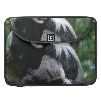 "Black and White Monkey 15"" Macbook Sleeve MacBook Pro Sleeve"