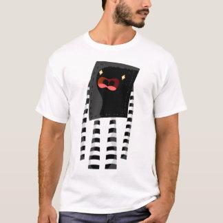 Black and white monster T-Shirt