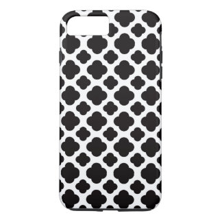 Black and White Moroccan Pattern iPhone 8 Plus/7 Plus Case