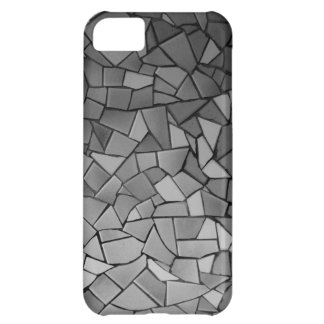 Black and White Mosaic iPhone 5C Cover