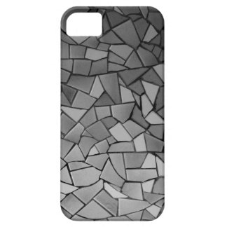 Black and White Mosaic iPhone 5 Case