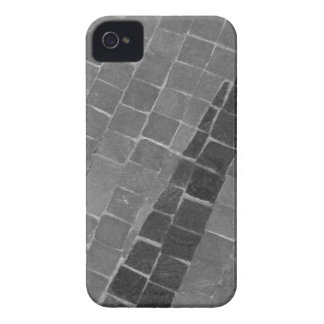 Black and White Mosaic iPhone 4 Case-Mate Case