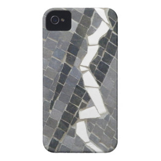 Black and White Mosaic iPhone 4 Cases