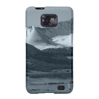 Black and White Mountain Scenes Samsung Galaxy S2 Cases
