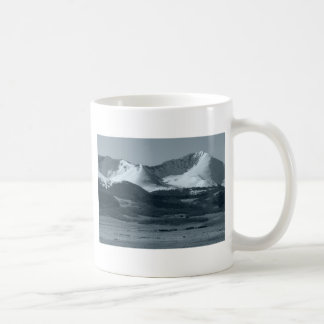 Black and White Mountain Scenes Coffee Mug