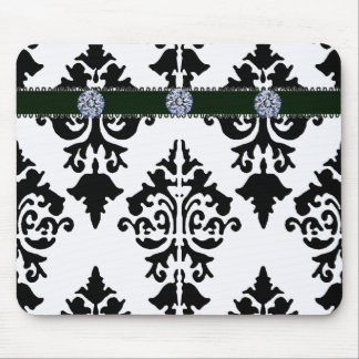 Black and White Mousepad