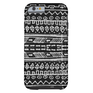 Black and White Native American - hieroglyphic iPhone 6 Case