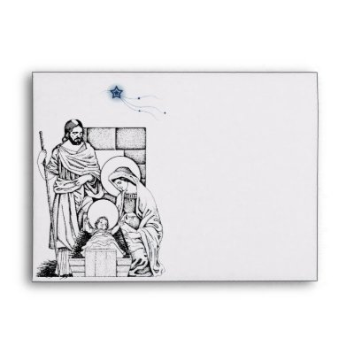 Keep Christ in Christmas -the blog Christmas Nativity Wrapping Paper Z