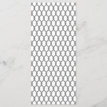 Black And White Nautical Rope Pattern